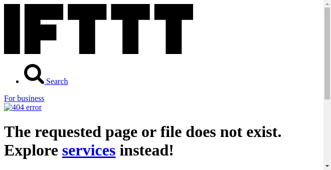 IFTTT Recipe: If a new listing goes up on my webpage, it is posed to Twitter, with link