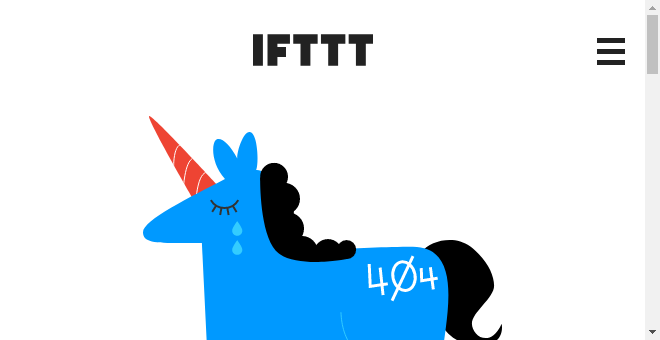 IFTTT Recipe: Close your garage door if it starts raining connects weather to garageio