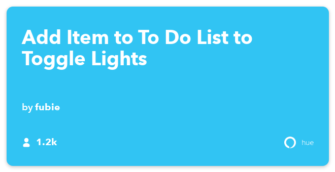 Best Amazon Echo IFTTT Recipes: Ask Alexa to toggle all Philips Hue lights on or off. connects Amazon Alexa to Philips Hue