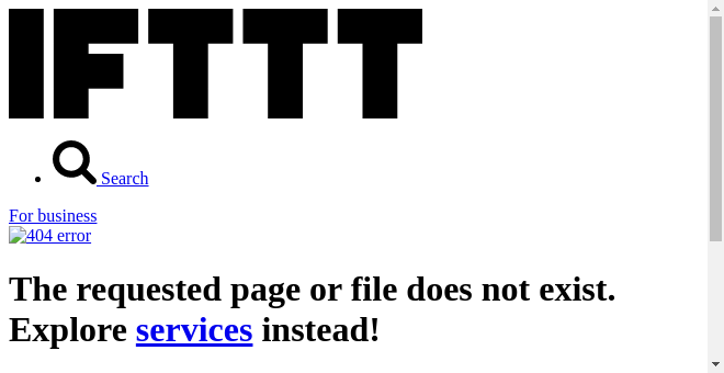 IFTTT Recipe: Receive the picture of the day as an email connects wikipedia to gmail